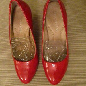New Aerosoles Patent Leather High Heel Shoes Sz 7M